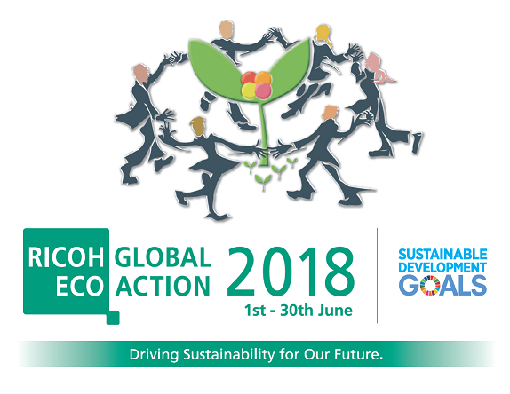 Ricoh Global Eco Action 2018